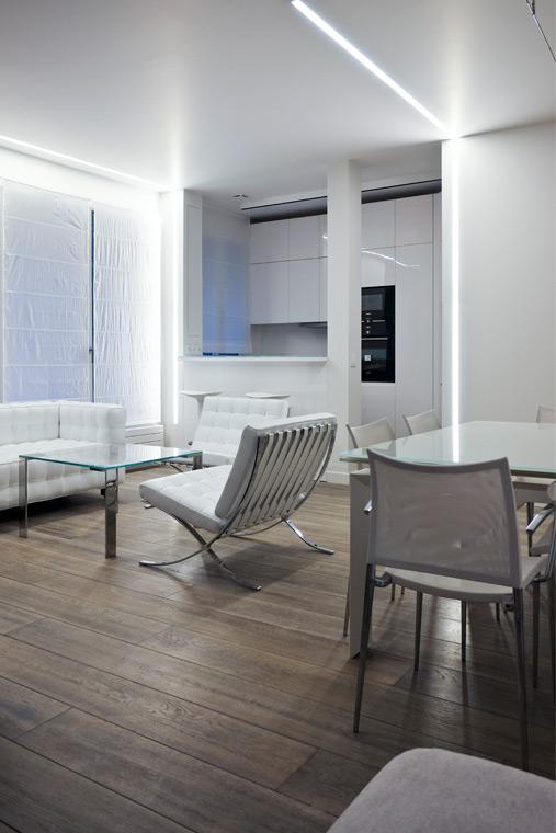 Aménagement appartement Paris salle à manger