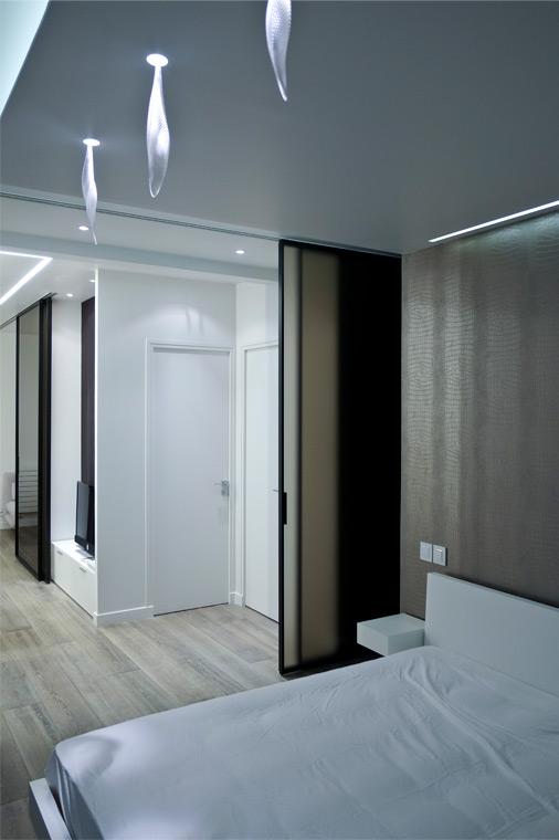 Rénovation appartement design Paris chambre
