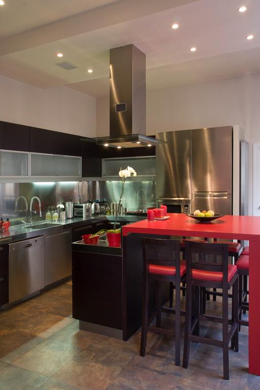 Rénovation Aménagement Cuisine design appartement moderne Paris