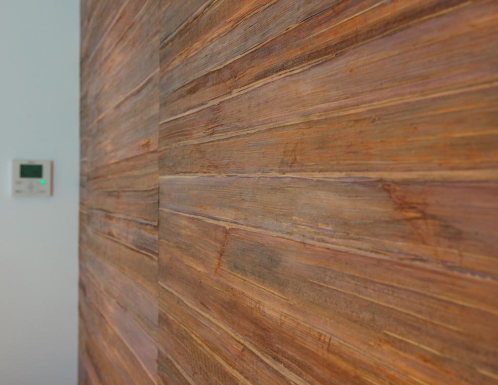 Rénovation matériaux haut de gamme bois revêtement mural