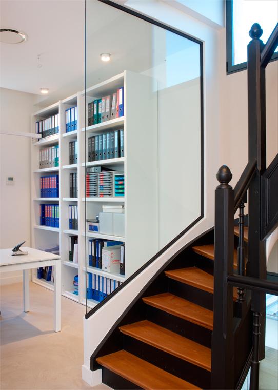 Rénovation escalier bureaux de prestige Chantilly