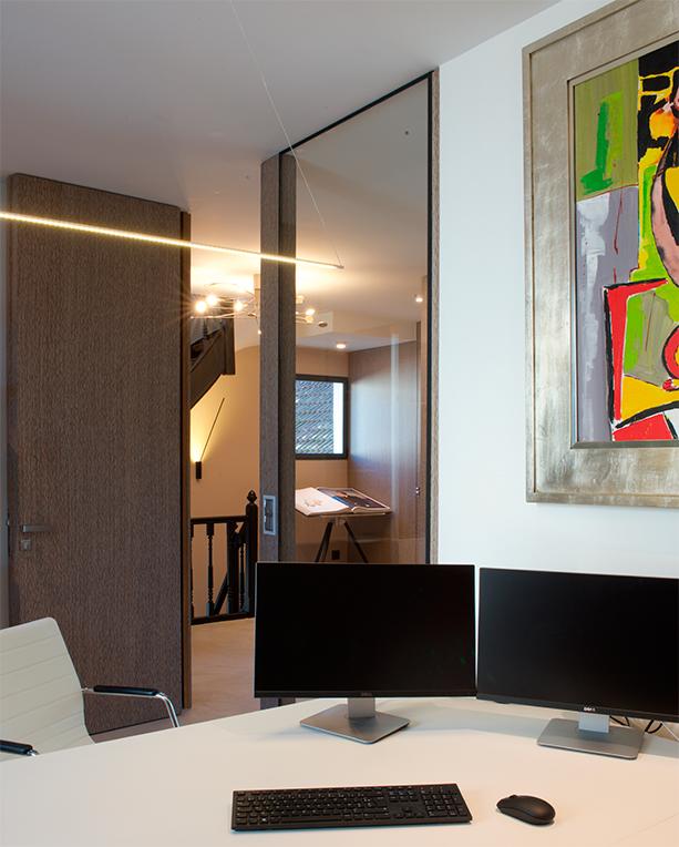 Aménagement bureaux standing Chantilly Design