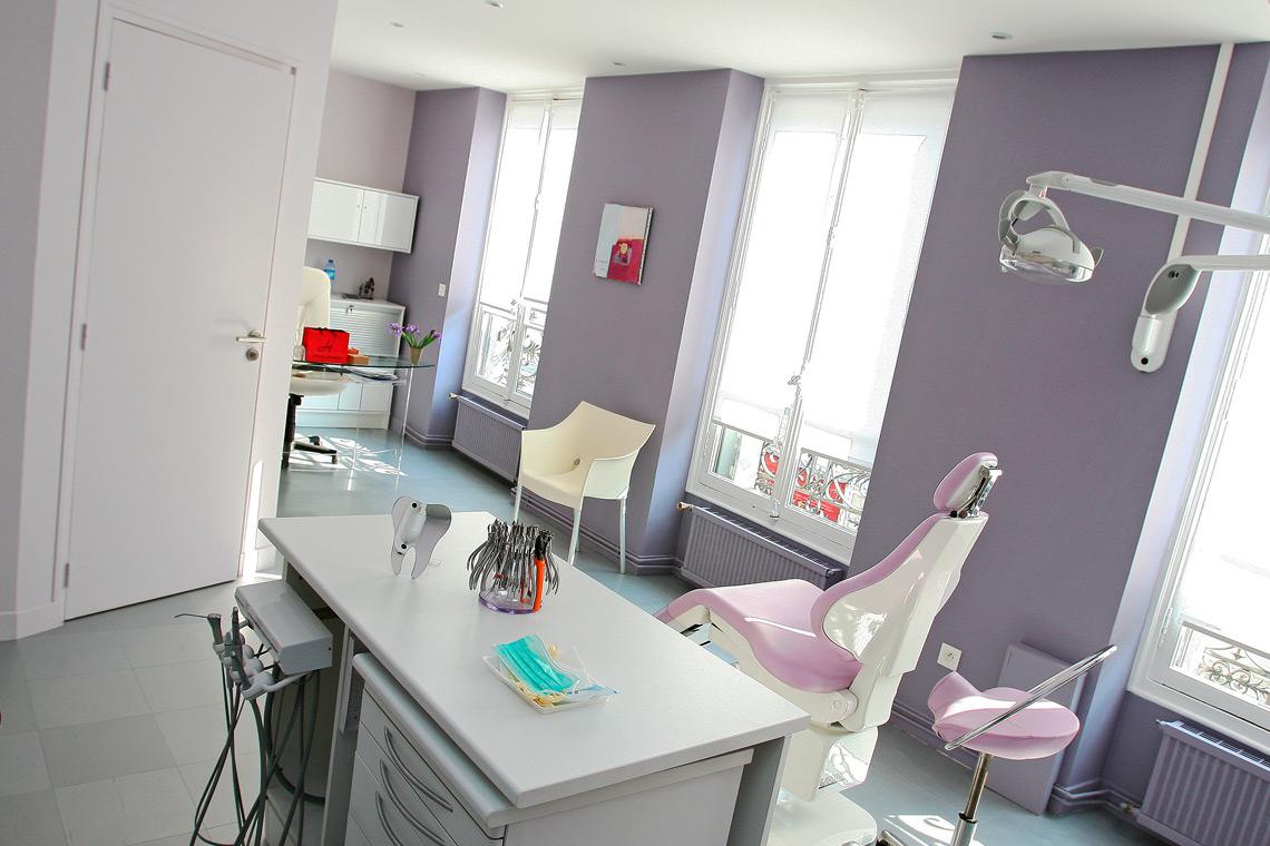 Aménagement cabinet d'orthodontie bureau region parisienne