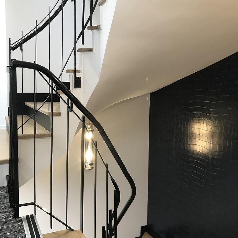 Rénovation Escalier Etude Notariale Notaire Architecte d'Intérieur