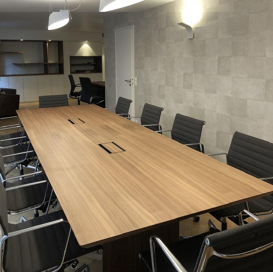 Rénovation Salle de réunion étude notariale notaire Architecte d'Intérieur