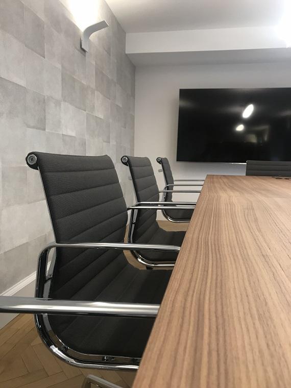 mobilier salle de réunion rénovation étude notariale par Architecte d'Intérieur